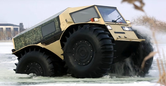 This Mini Monster Truck Absolutely Dominates Off Road Through Mud Snow Ice And High Water