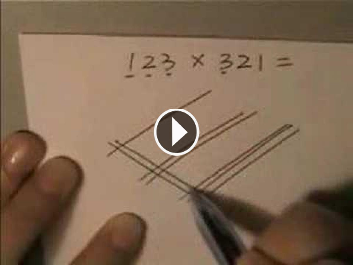 This Japanese Multiplication Method Divide Your Brain By Making No Sense. Lets Have A Look!!