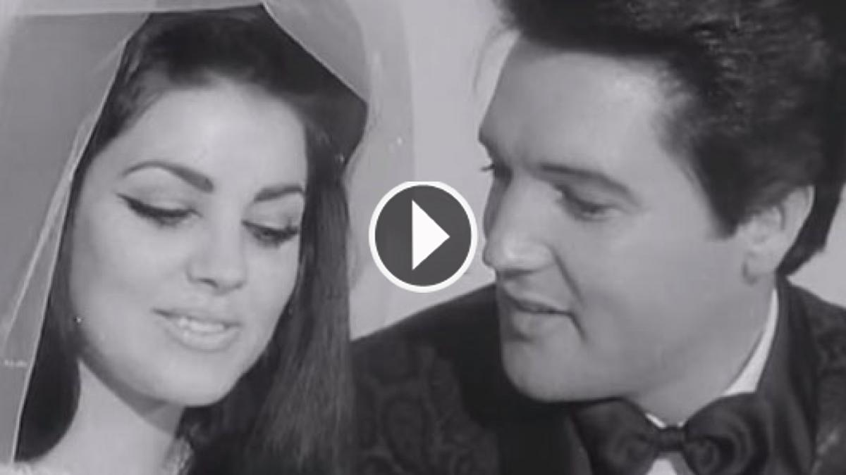 The Wedding Of Elvis' Kept Arcane Since 1967 But It Found Unbelievable After Being Out!!