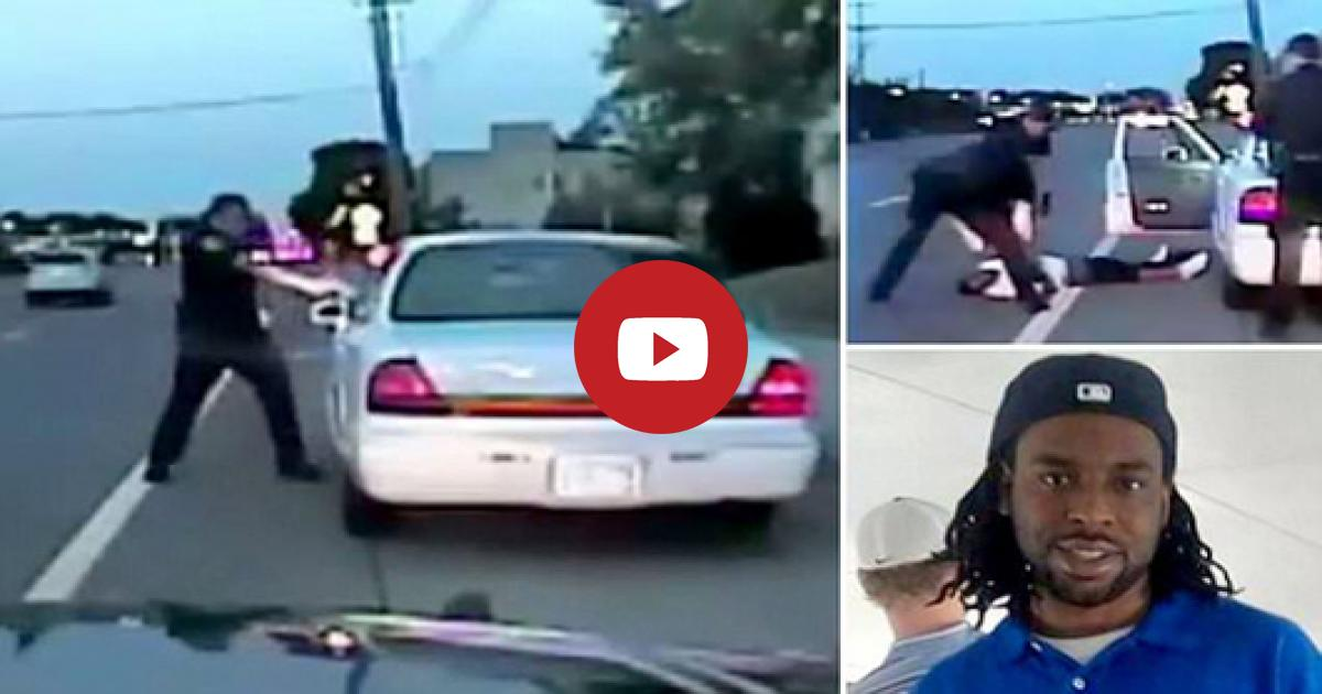 Dashcam Footage Shows That The The Cop Shoots A Man Brutally After Being Warning Hard In The Car. Watch!!
