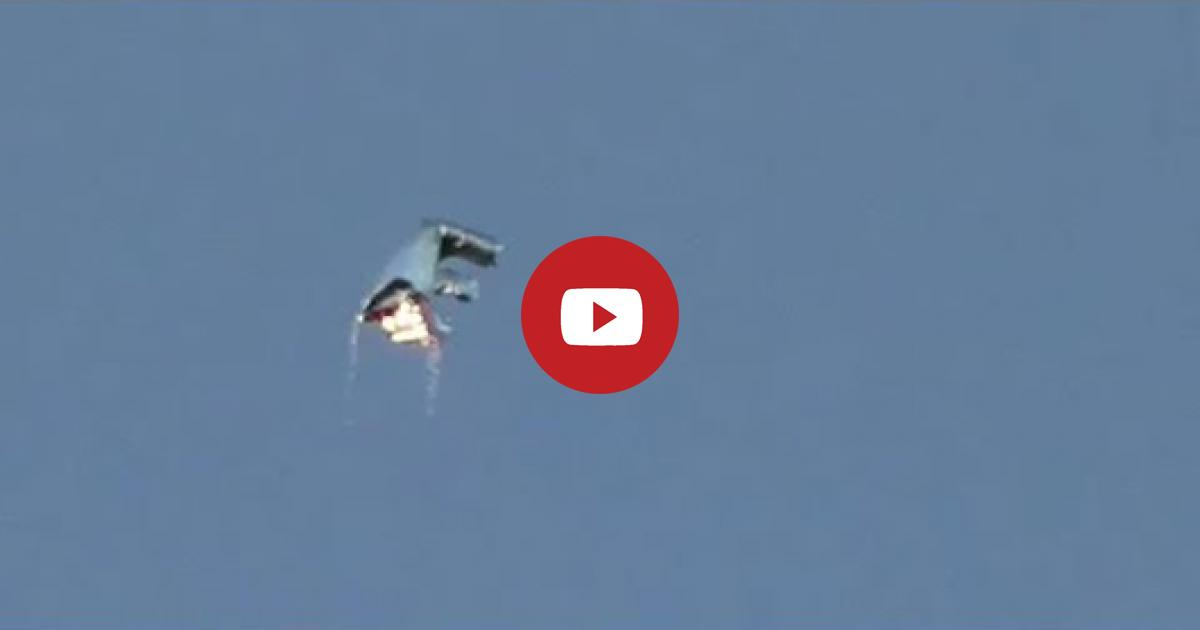 UFO Spacecraft Is Sighted Very Clearly In The Sky Over British Columbia, Canada.