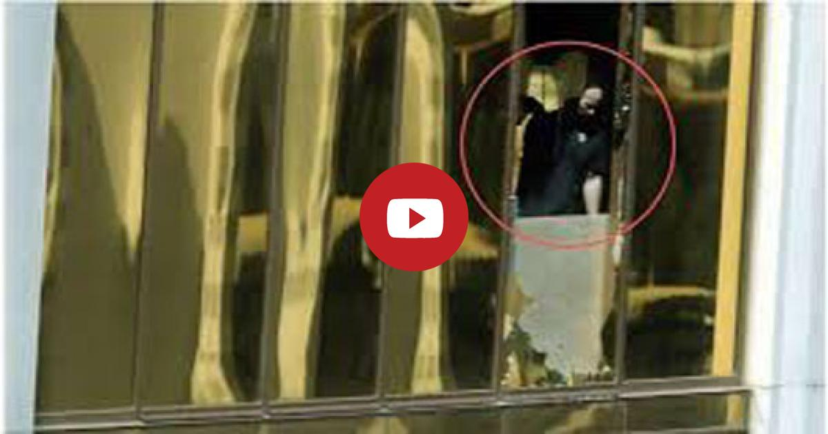 The Harrowing Clip Shows That There Was More Than One Gunman Operating During The Attack.