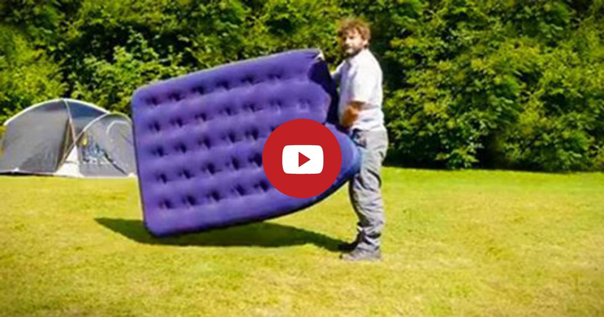 Learn This Genius Life Hacking Method Of How To Inflate An Airbag Except Using A Pump.