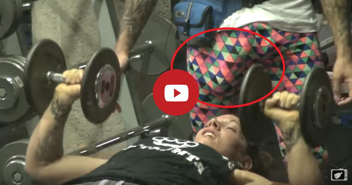 Instructor With Huge Private Part Gets Up Close And Personal With A Gym-Goer In Funny Prank.