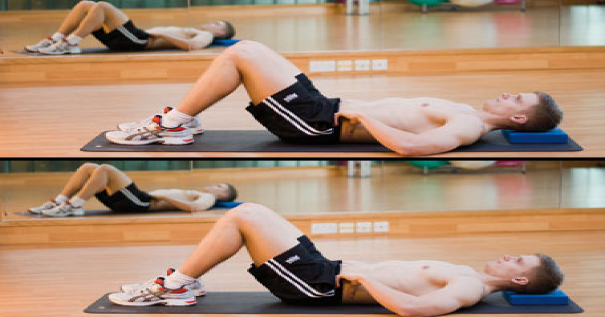 Get Rid Of Severe Back Pain Doing These 5 Easy Exercises.