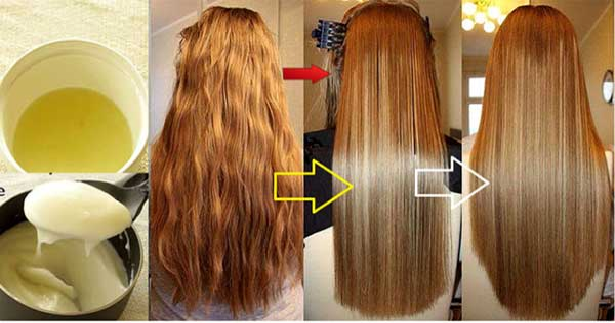 Get Beautiful Permanently Straight And Thick Hairs For Life Using This Home Remedy.