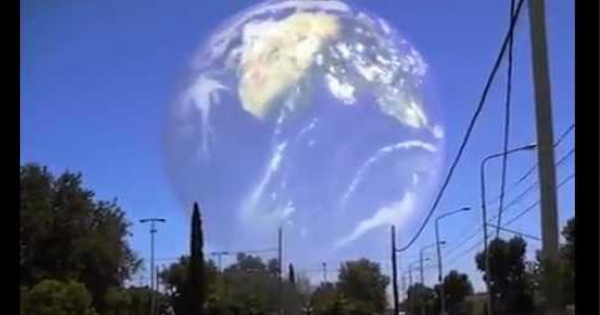 Is It True Or Fake? Inter-dimensional Vortex Briefly Appears Above Sacramento, California.