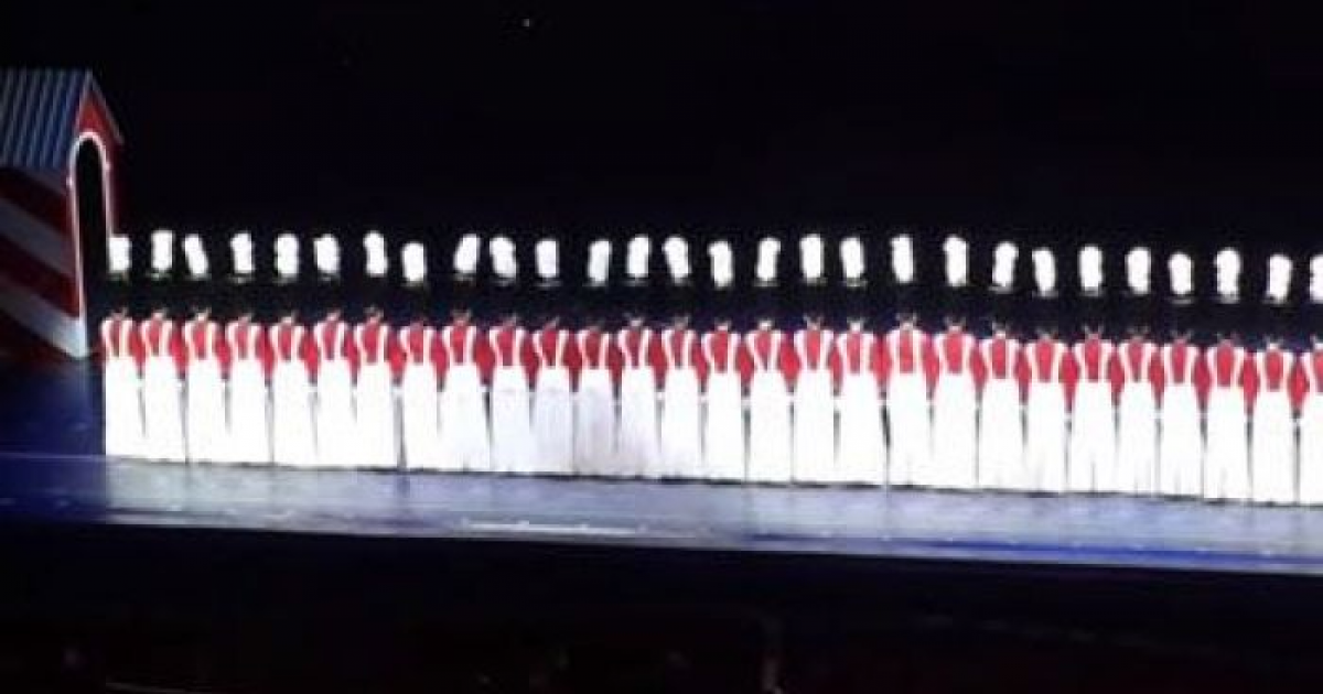 36 Toy Soldiers Stood In A Line On Stage, Audiences Can't Believe Their Eyes As They Begin To Move In Unison.