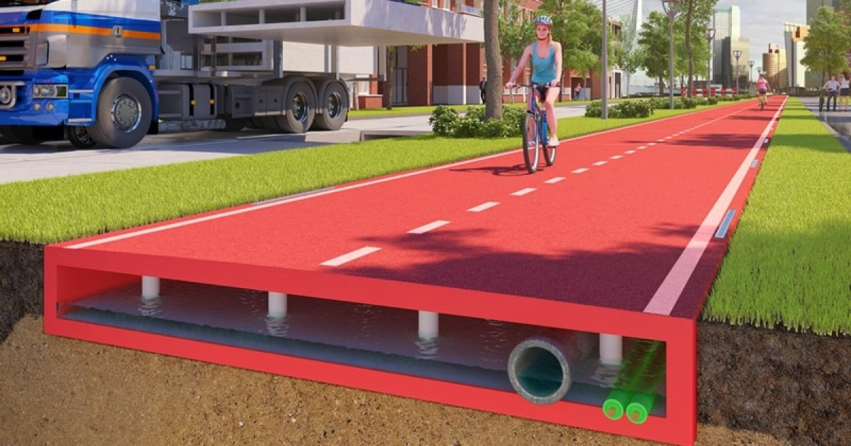 PlasticRoad Concept Is Really A Revolution In Building Roads In Future.