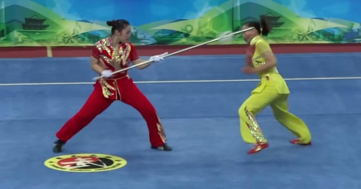 This Wushu Must Be The Most Dangerous Team Sport In The World.