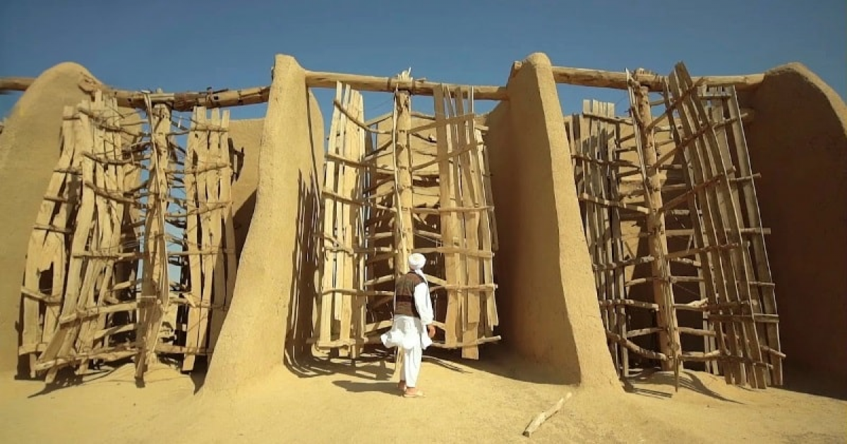 These Primitive 1,000-Year-Old Windmills Are Still Working Today With Its Speed.
