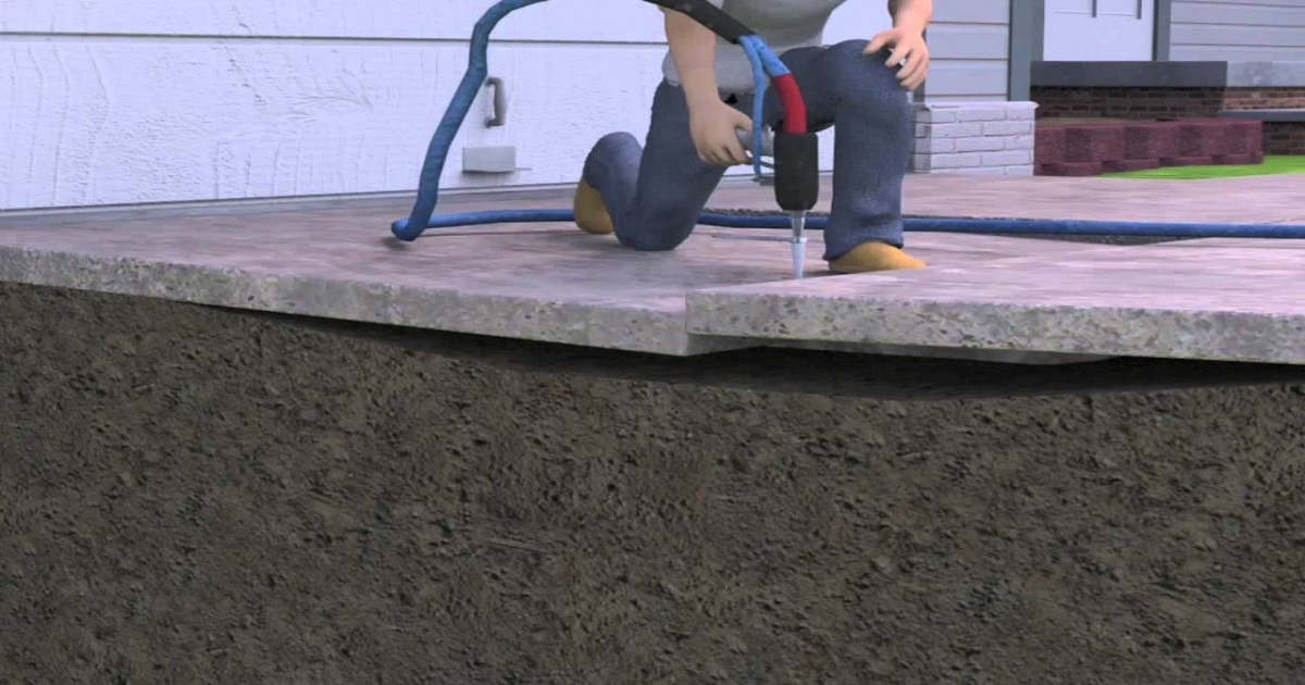 This Foam Is Now A Great Solution For Concrete Lifting & Slab Leveling.