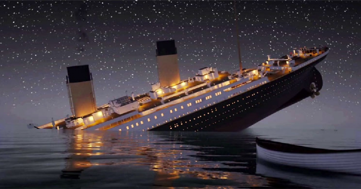 The Titanic Sink In Real Time Is More Realistic Than You Can Imagine.
