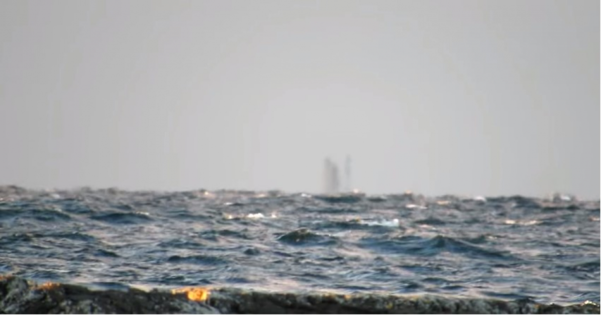 Ghost Ship Spotted On Lake Superior That Was Sailing Across Lake.
