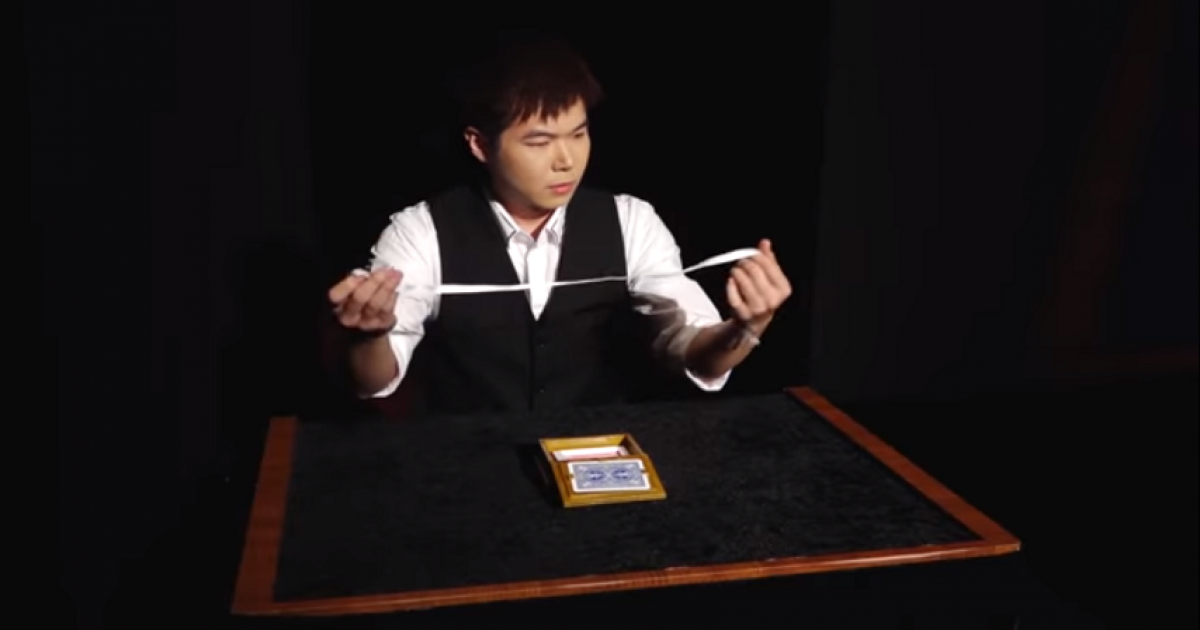 This Trick Won The Magic World Championships And It Has Utterly Destroyed Viewers' Brains.